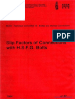 No037[Slip Factors of Connections With Hsfg Bolts]