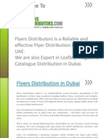 Flyers Distributors Dubai