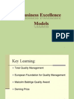 Business Excellence Models