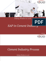SAP IN CEMENT INDUSTRY