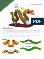 Dragon chinezesc A4
