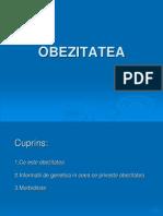 OBEZITATEA 1D IULIA