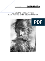 G.narrativo II.el Narrador