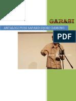 Antaloogi Puisi Sapardi Joko Damono