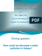 water pollution in salaya 2