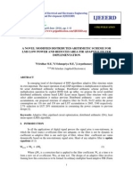 A Novel Modified Distributed Arithmetic Scheme for Lms Low Power and Reduced Area Fir Adaptive Filter Implementation