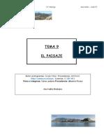 Tema 9 El Paisaje