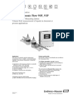 Prosonic Flow 93PA1