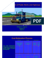 DPWH - Cost Estimation