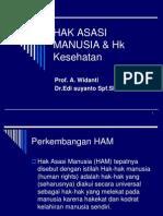 Hak Asasi Manusia & Hk Kesehatan