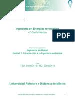 Unidad 1 Introducciòn a La Ingenierìa Ambiental