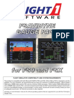 FSAvidyne User's Guide