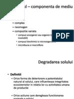 3. Deteriorarea solului