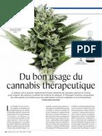 Cannabis théraprutique -  S&A  - mars 2014 -