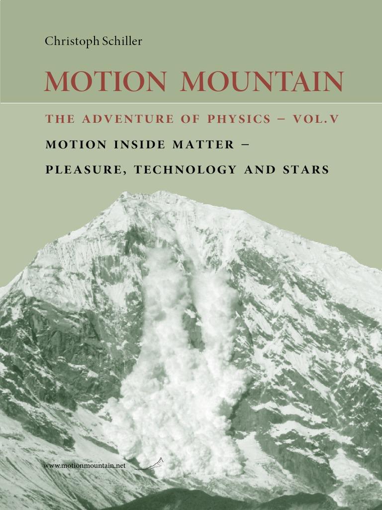 Motion Mountain Volume 5 Atomic Nucleus Adenosine Triphosphate