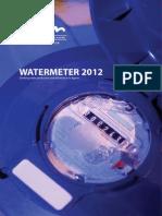 Watermeter 2012 ENG