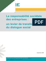 RSE Et Dialogue Social