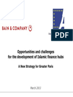 GPIA BAIN Islamic Finance Hubs a Strategy for Greater Paris