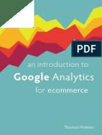 Intro Google Analytics for Ecommerce 1