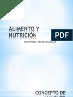 Alimento y Nutrición