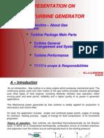 Gas Turbine Generator Presentation