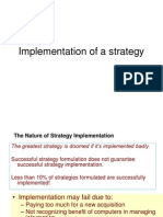 Strategy Implementing - UoM