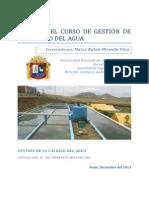 Examen Gestion de La Calidad Del Agua, Marco Miranda 1