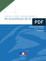 Dp - La Nouvelle Geographie de La Politique de La Ville