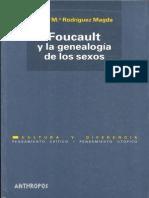 Rosa Magda Foucault y La Genealogía de Los Sexos