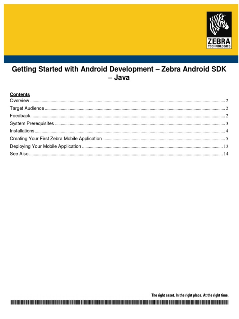 AndroidSDK Java GettingStarted WH | Eclipse (Software) | Android
