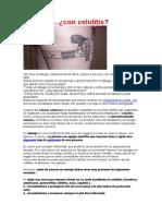 Tatuajes con celulitis