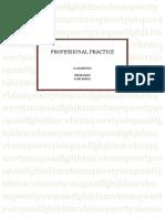 Professional Practice UNIT 5