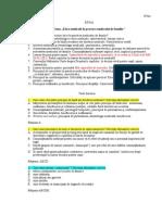 Intrebari Si Teste Bioetica Si Pac Cont Fam Puiu 2011