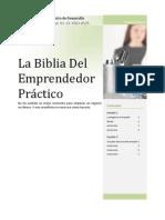 La Biblia Del Emprendedor Práctico