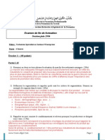 Corrige Examen de Fin de Formation Pratique TSGE 2006 v2
