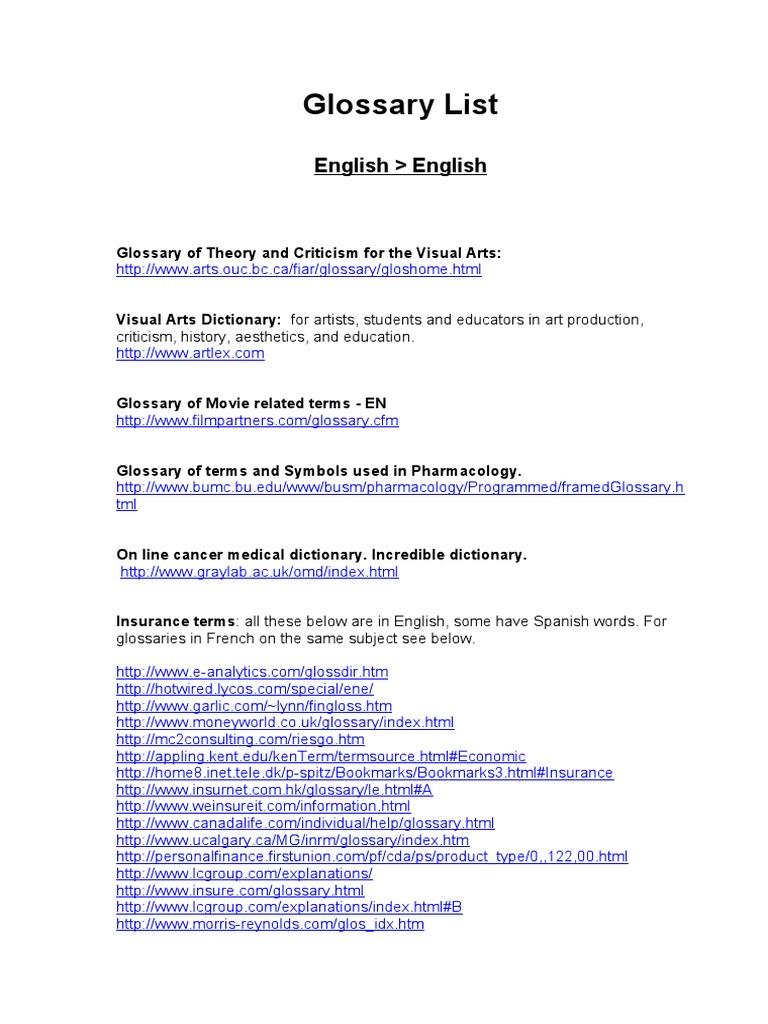 Lista de glosarios dictionary marine biology izmirmasajfo