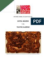 Informe AMPLIADO sobre el Teatro Albéniz
