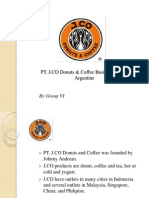 PT. J.CO Donuts & Coffee Business Plan in Argentine