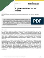 Geostadistica ciencia ambiental