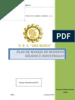 Anexo II Plan de Manejo de Residuos Solidos e Industriales