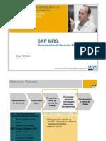 2 SAP MRS Programación de Recursos Múltiple