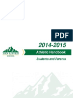 Ben Lippen School Athletic Handbook for Students and Parents 2014-2015
