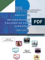 Trujillo Proyecto de Mejoramiento de La Calidad de La Educacion Superior
