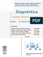Diagnostico Economico Financiero de La Empresa