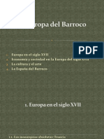 La Europa del Barroco