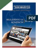 UNMSM Reglamento 2014 II