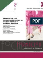 Intervencion Mujeres Violencia Machista