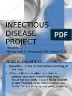 Infectious Disease Project-Nikki