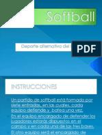 Softball por ALICIA OTERO 2ºB.pptx