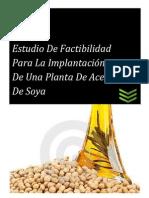 Administración de Proyectos - Aceite de Soya